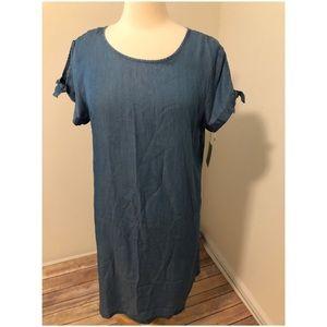 NWT Lauren Conrad knot sleeve swing dress